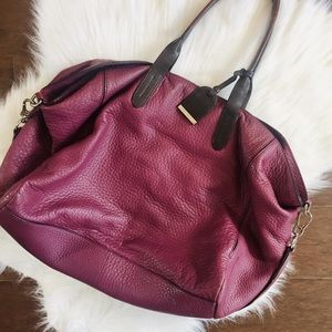 Cole Haan Purple tote bag.